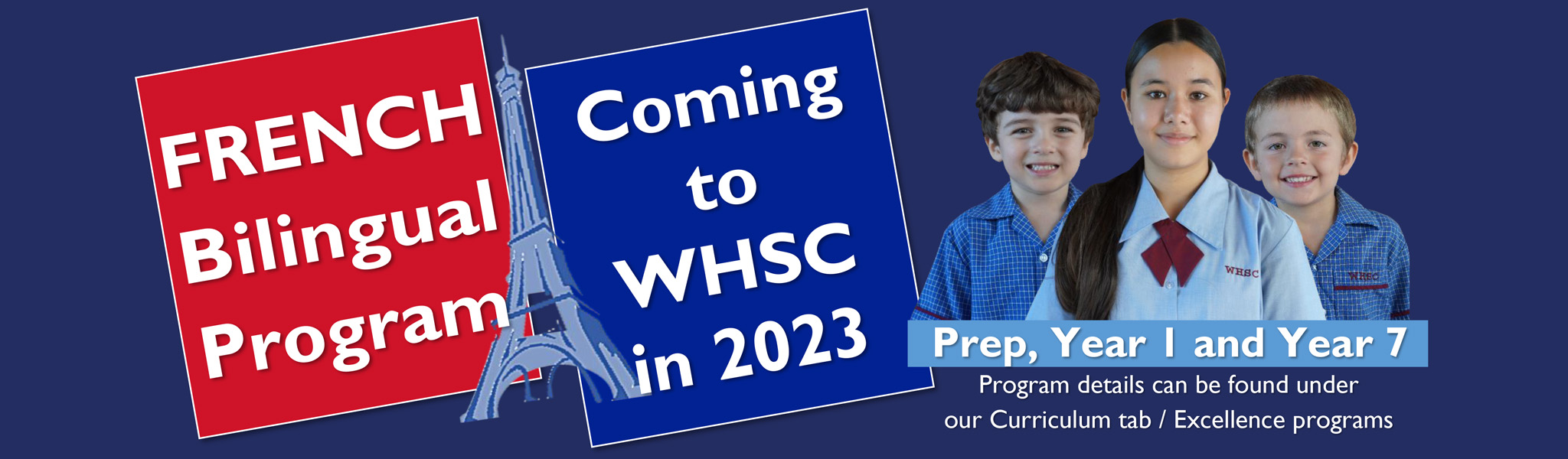 Prep to Year 12 at WHSC