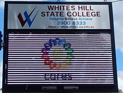 New WHSC Electronic Sign