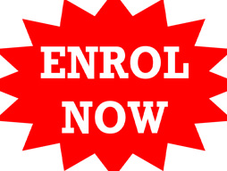 Enrol now for 2017